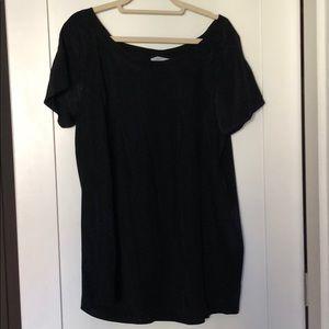 Geren Ford Black Short Sleeve Silk Shirt